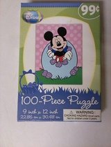FREE Brand New EASTER Disney Mickey Mouse 100 Piece Jigsaw Puzzle SEALED!! in Oswego, Illinois