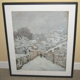 ART - Beautiful Sisley Framed Print - Snow at Louveciennes 1878 in Naperville, Illinois