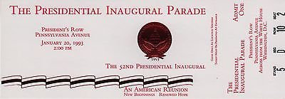REDUCED!!!  1993 presidential inaugural parade (president clinton and al gore) in Fort Belvoir, Virginia