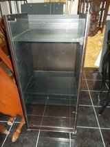 Small Shelf with glass door and on rollers in Fort Leonard Wood, Missouri