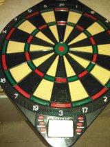 Sportcraft electronic dartboard with new darts in Fort Lewis, Washington