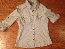 Striped Button Down Shirt - sz M in Camp Lejeune, North Carolina