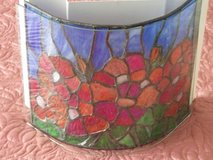Stained Glass Sconce in Chicago, Illinois