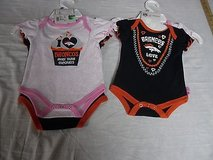 NFL Denver Broncos Baby Infant 2 Piece Creeper Outfit Size 0-9 M Football 4052 in Huntington Beach, California