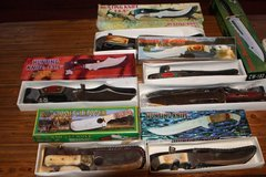 Choice of Hunting Knives in Kingwood, Texas