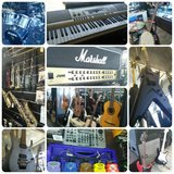 New and Used Musical instruments, Gear, dj, guitars, amps, live music in Camp Pendleton, California