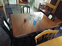 Table and Four Chairs/Real Nice Set in Fort Leonard Wood, Missouri