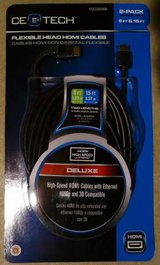 6ft. and 15ft. HDMI Flexible Head Cable - Deluxe 3D by CE Tech in Westmont, Illinois