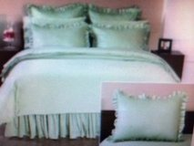 NEW lot of 2 home decorators collection ruffled cottage hill standard pillow sham SHAMS in Kingwood, Texas