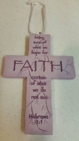 "5"" new cross with magnet back in Camp Pendleton, California"