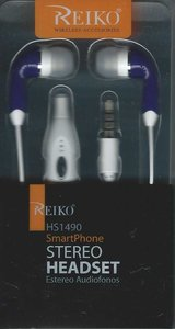 Reiko HS1490 SmartPhone Stero Headset - New in Box in Cherry Point, North Carolina