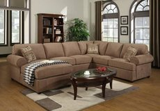No Credit No Problem____3pc Sectional__50% Off in Fort Lewis, Washington