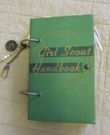 Hand Made GIRL SCOUT Journal, UPCYCLED in Cherry Point, North Carolina