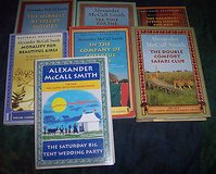7 no.1 ladies detective agency Books Alexander McCall Smith 4 HB 3 PB in Alamogordo, New Mexico