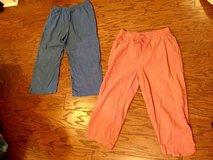 Women's Peach/Coral and Blue Capri Pants - sz L in Camp Lejeune, North Carolina