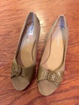 Green Heels - sz 7 - NEW! in Camp Lejeune, North Carolina