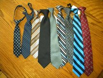 Boys Clip-On Ties - Toddler Sizes and Up - $3.00 each in St. Charles, Illinois