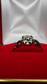 Vintage European cut 18kt diamond ring 0.45ctw in Camp Pendleton, California