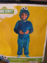 ~KIDS COOKIE MONSTER COSTUME SIZE 3/4~ in Morris, Illinois