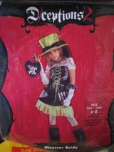 ~KIDS MONSTER BRIDE COSTUME SIZE 7/8~ in Lockport, Illinois