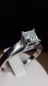 Solitaire Diamond engagement ring in Camp Pendleton, California