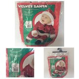 INFANT VELVET SANTA OUTFIT 6 - 12 months in Olympia, Washington
