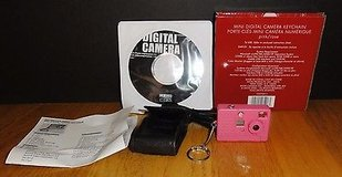Avon Mini Digital Pink Camera Keychain with accessory kit in Bolingbrook, Illinois