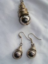 Vintage drop earrings and pendant in Temecula, California