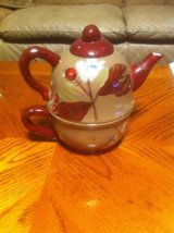 Tea pot with cup in Bolingbrook, Illinois