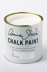 annie sloan pure white chalk paint 4oz sample in a reusable squeeze container! in Bartlett, Illinois