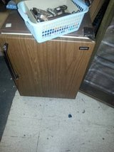 Brown Sanyo Mini fridge in DeKalb, Illinois