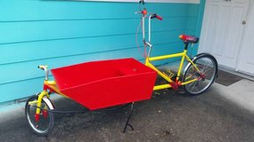 Cargobike in Fort Lewis, Washington
