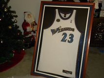 UDA Authenticated Michael Jordan Auto Wizards Jersey ltd #20/123 30k pts in Tampa, Florida