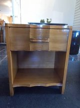 Curved Drawer Night Stand*Solid Wood in Fort Leonard Wood, Missouri