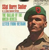 1966 RCA Vistor 45 RPM SSgt Barry Sadler in Vista, California