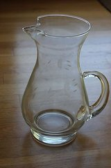 etched glass pitcher in Tinley Park, Illinois