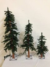 Barcana Pre-Lit Alpine Artificial X-mas Tree - Clear 2'-4' Available in Houston, Texas