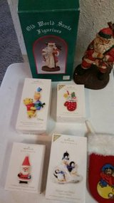 Collectible Keepsake Ornaments from Hallmark and Fieval stocking in Temecula, California