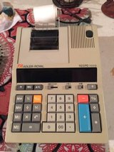 Desk Calculator TA Adler Royal 1123PD Nova...Mint!! in Plainfield, Illinois