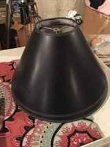 Black Lamp Shades (2)....Great Condition! in St. Charles, Illinois