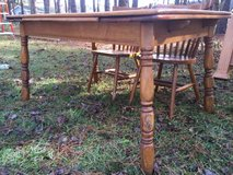 Extendable Wooden Kitchen Table in Camp Lejeune, North Carolina