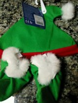 build a bear clothes -  green christmas elf hat & shoe set santa's helper new in Yorkville, Illinois