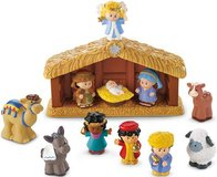 New Fisher-Price Little People Nativity Set A Little People Christmas in Plainfield, Illinois