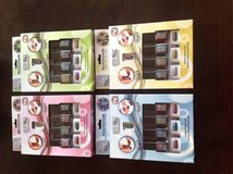 4 MAGNA NAILS As Seen On TV Magnetic Finger Nail Polish Kits-New in Lockport, Illinois