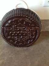 Oreo Cookie Ceramic Brown/White Collectible Cookie Jar in Chicago, Illinois