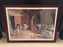29x22 large framed Degas Ballet Dancers poster in Moody AFB, Georgia