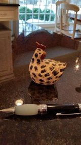 Hen / Rooster -- Decorative item- Excellent Condition --White Speckled D in Naperville, Illinois