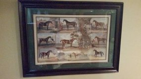 "Picture Print - Horse Picture - Matted and Framed - 24"" x 36"" in Batavia, Illinois"