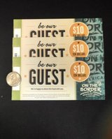 $30 On The Border Mexican Grill & Cantina Coupon ($10x3 Certificates) in Philadelphia, Pennsylvania