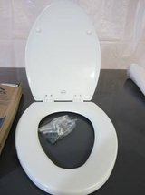 Bemis Toilet Seat Easy Clean and Change Hinge, White in Joliet, Illinois